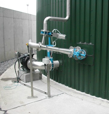 Digester Mixing System